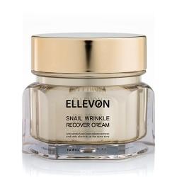 ELLEVON Анти-возрастной крем с фильтратом слизи улитки